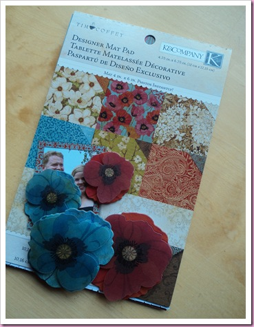 K & Cp Poppy Papers