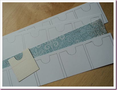 Templates for Drawers for Tesco Advent House
