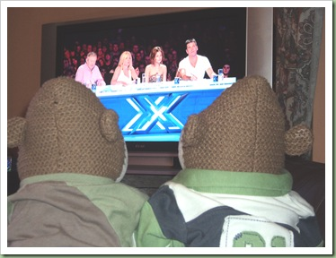 Watching X Factor 2