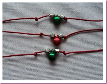 Friendship Bells Christmas Friendship Bracelets