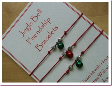 Jingle Bell Friendship Bracelet 1