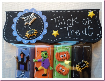 Cabury Miniature Halloween Candy Treat bag 3