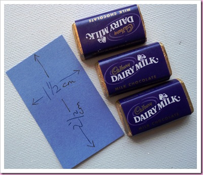 Cadbury Dairy Milk Minature Halloween Project