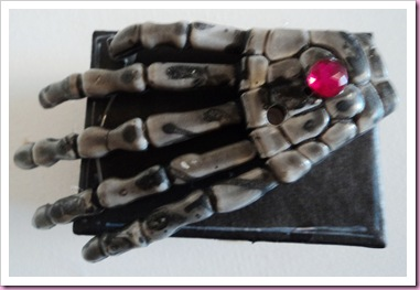 Halloween Scary Skeleton Hand Favor Box 2