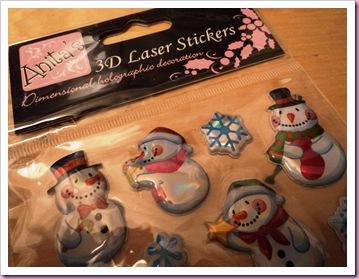 Anita's 3D Laser Stickers