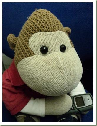 texting Monkey