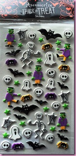 Trick or Treat stickers from Accessorize