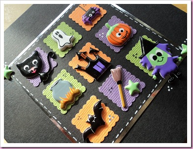 Halloween Card using Accessorize Stickers 1