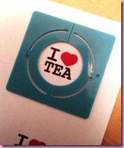 I Love Tea Badge