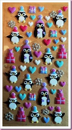 Accessorize Penguin Stickers