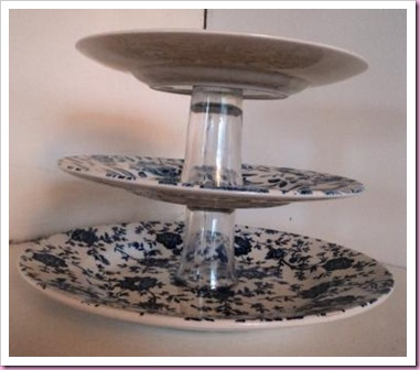 Old Crock Recycled Cake Stand 4