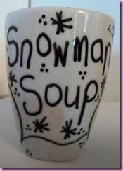 snowman soup mug 2