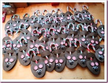 Candy Cane Mice
