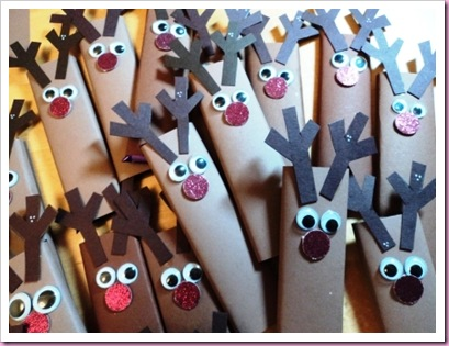 Rudolph Chocolate Candy Bars 1