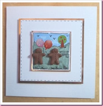 Gingerbread Men Card