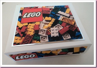 Box of lego sweets