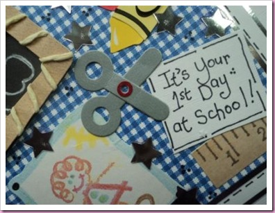 First Day at School Card 1