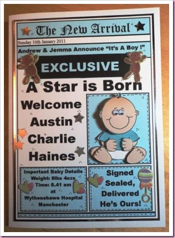 Star is Born Card