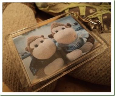 Monkey Keyring 1