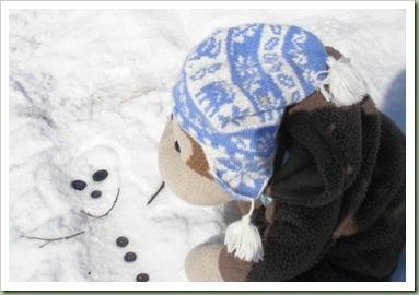 Making my snowman