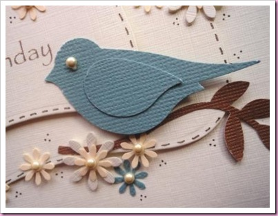Stampin Up 2 Step Bird Punch