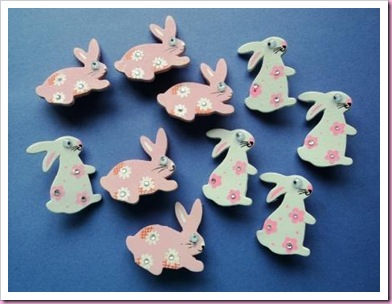 Easter Rabbit Pins