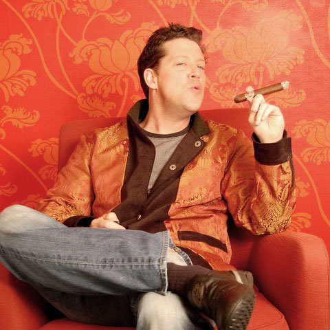 The Supremely Camouflaged Betabrand Smoking Jacket