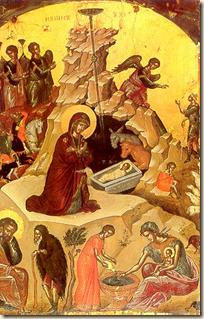 Icono representativo de la Natividad
