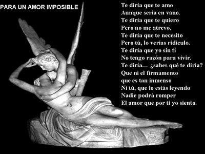 Para un amor imposible