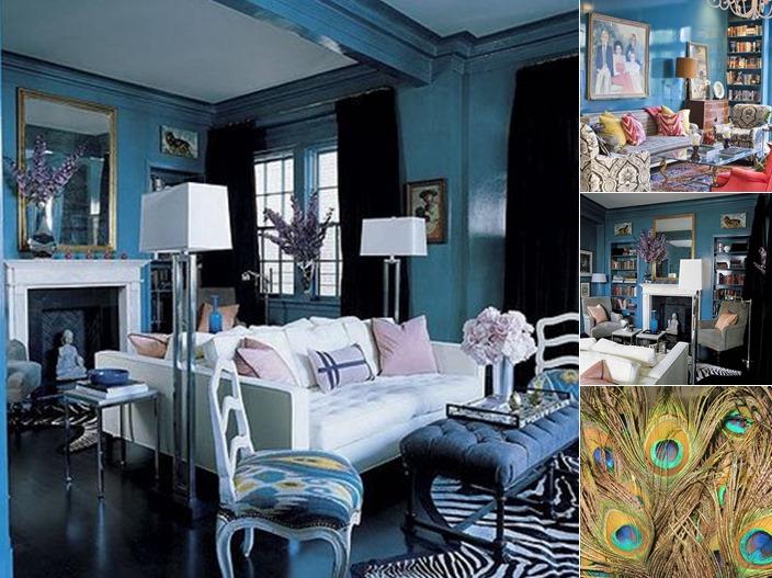 View blue walls