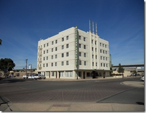 Hotel San Carlos in old section of Yuma, Arizona