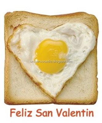 huevo san valentin
