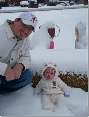 bella daddy snow