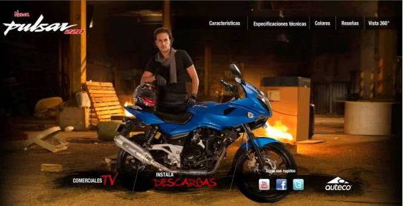 Pulsar 220F Colombian Website