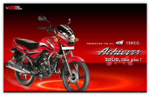 New Hero Honda Achiever