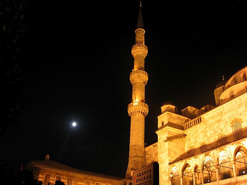 Estambul: nocturn a la mesquita blava