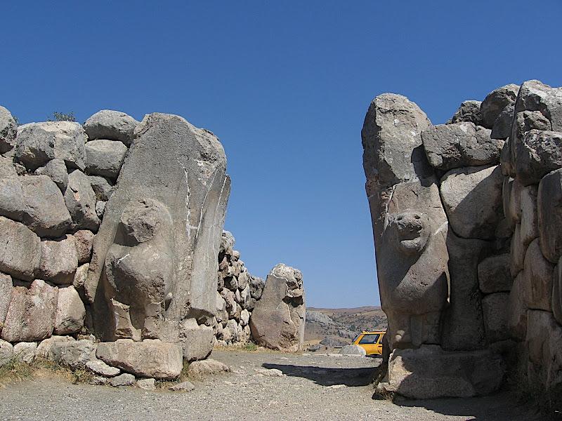 Hattussa: la Porta dels Lleons