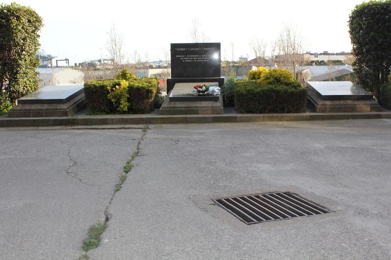 Tombes de Durruti, Ascaso i Ferrer i Guàrdia