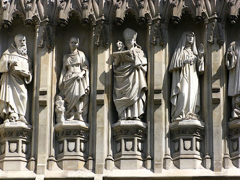Detall de la catedral de Salisbury