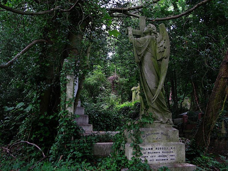 Àngel al Highgate Cemetery