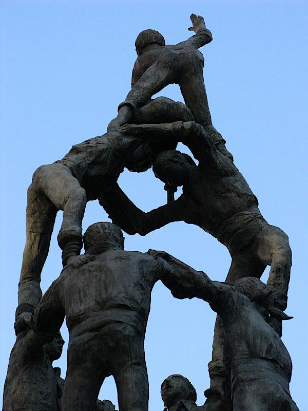 Monument als Castellers, Tarragona (XVII)