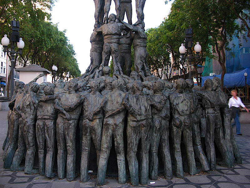 Monument als Castellers, Tarragona (XV)