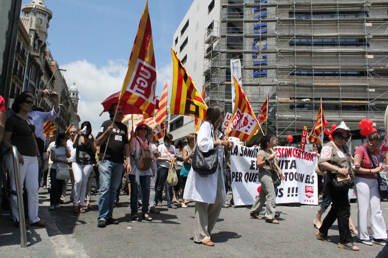 8 de juny: vaga del sector públic IX