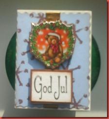 jul kort ask i blått 008