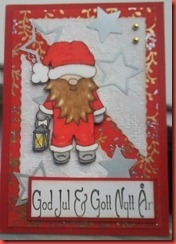 Enkla julkort 008