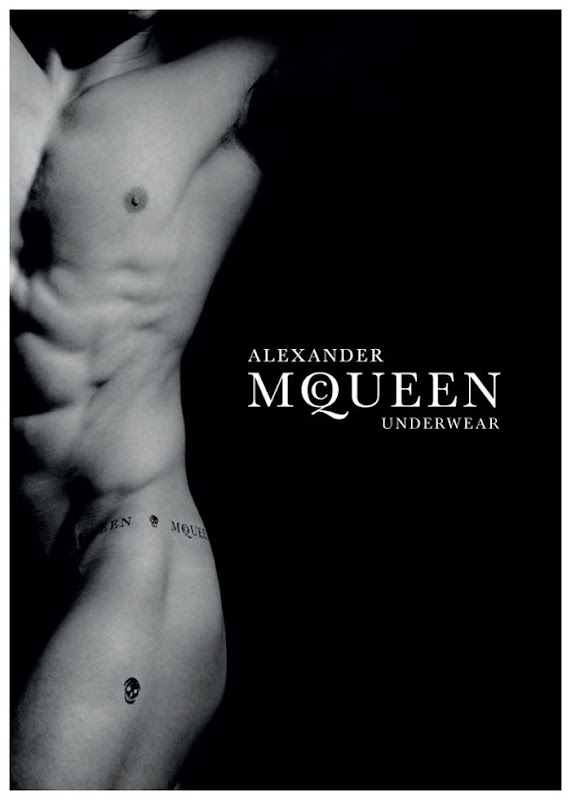 Alexander McQueen Underwear, campa&ntilde;a oto&ntilde;o invierno 2010