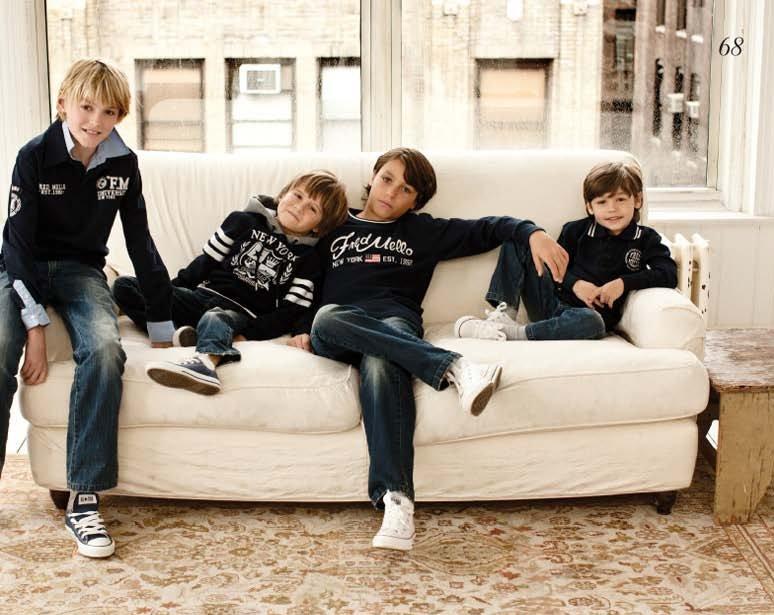 Fred Mello Kids, lookbook otoño invierno 2010