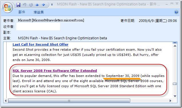 Offer Extended 20090930
