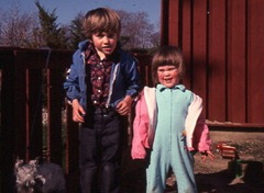 Greg and Becky trailer kids