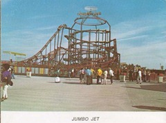 cedar point jumbjetpostcard